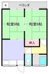 202号室(間取)