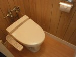 トイレ 温水洗浄便座(残置)